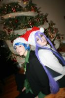 Vocaloid- merry christmas! by visuvampy