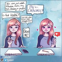 Drawing in public can be a struggle... by Cyarin