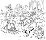 big burly bar brawl by Pachycrocuta