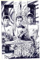 CLASSIC STAR TREK 2 by Jerome-K-Moore