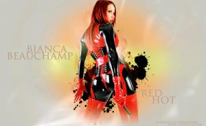 Red hot Bianca 2 by UniqueOneDesigns