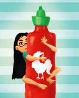 Sriracha by ItsumiK