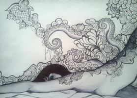 The Sea in Repose by KLynnGallery