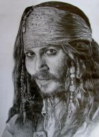 Captain Jack Sparrow by Tash92