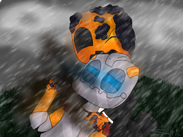 Pooch ~ Stand in the Rain+SP by SwiftKhaos