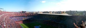 The one and only Camp Nou by Freesty1e