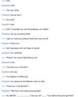 Romanos Fight with Cleverbot by HetaliaRP-Romano