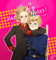 Birthday Buddies by uixela