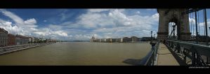 Panorama from the Chain Bridge by piximi