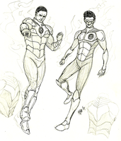 DCTV GL:John and Kyle by kyomusha