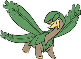 Pokeddex day 12: Tropius by Dream--scape