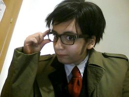 Doctor Who-Tenth Doctor cosplay by Artieukchan
