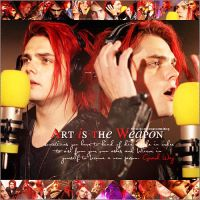 Art is the weapon by loveelydesigns