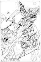 Starscream VS Jetfire by Novastorm73