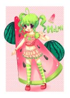 Mixed Delight - Melon Delight by CamiIIe
