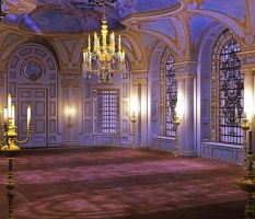 Grand ball background by indigodeep