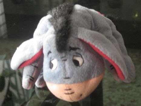 Shy Eeyore by flyingtazos55