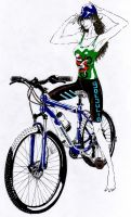 Ciclista by Guido9