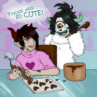 CrashGrind: Makin' Chocolates by ShiroXIX