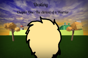 Destiny Chapter 1 Cover Page by Hey-Its-Karter