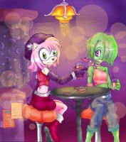 SONIC: Bar Girls by Looby-the-Pirate