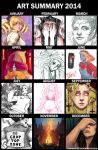 ART SUMMARY 2014 by Inulover46