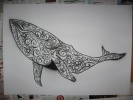 Whale by AdomasWillKill
