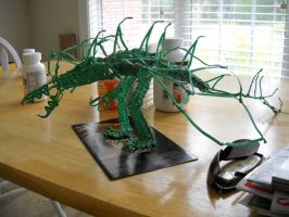Twist Tie Dragon, Sixth Round, View 1 by RC-Iname