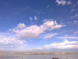 The Clouds and Me - The River Tejo-2012-18-09-02 by Kay-March