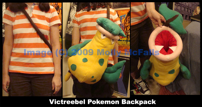Victreebel Backpack by Tez-Taylor