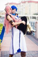 Kaito and Luka Metrocon 2013 by Yougotink