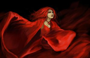 Melisandre by iara-art