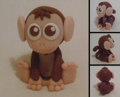 Monkey Figure +Commission+ by Alistu