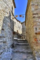 Rocca San Felice Alley by Quentin-Kalend