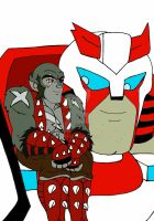 Panthro and Ratchet by xero87