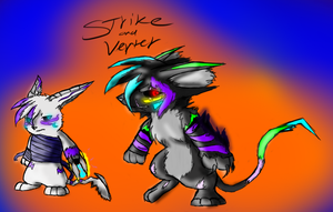 Strike and Verter by shi562