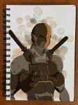 Deathstroke by SuperG0blin