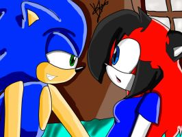 +Sonic-And-Kimiko_Room+ by Passion-BlueLips