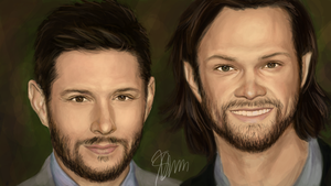 Jensen and Jared (Request) by cpss