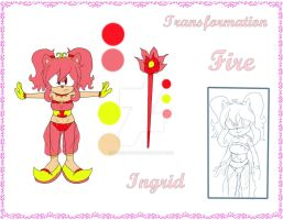 References - Ingrid Transformation - FIRE by InGriid-Chan