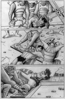 The Crucifixion of Superman pg. 4 by superpicciurro84