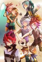 Inazuma Boys by InjoKEI
