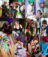 A Year In Cosplay 2012 by RadClawedRaid