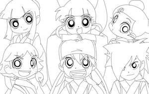 Eda Era in PPGZ Lineart by PPGXRRB4eve
