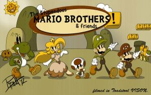 the Stupendous Mario Bros. by PixelMagus