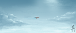 plane a-far by madd-sketch