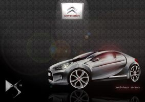Citroen DS2 Concept by Frenchtouch29