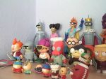 Futurama/SouthPark/FamilyGuy Figure Collection 1/3 by RobotHellboy1114