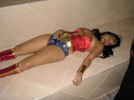 Sexy Wonder Woman: Amazon chloroformed 4 by gcsuperheroines
