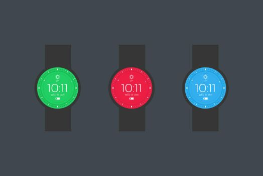 Pretty Watch faces.. by incredible-s